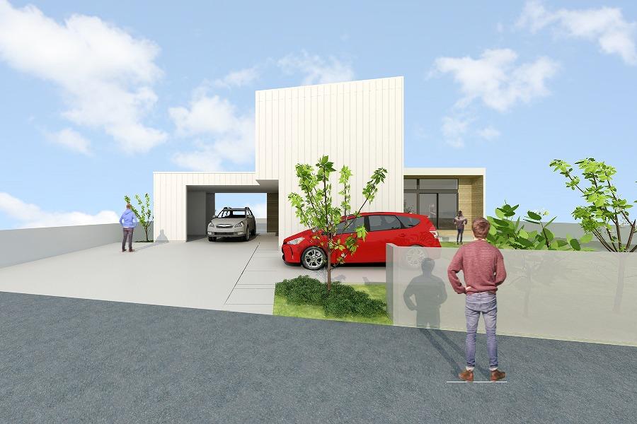 *終了*2021/4/10-11「庭を囲むL型の家」戸建住宅 完成見学会@宮城県塩釜市