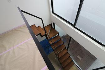 階段が設置されました