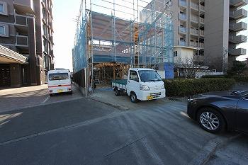 建て方始まりました。