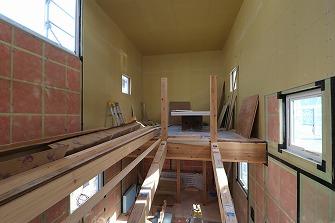 内装工事が始まりました。