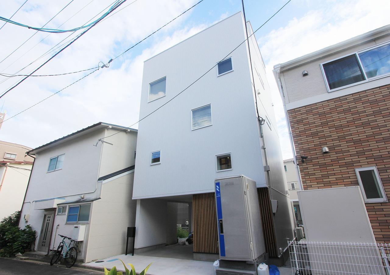 都市型5層の家