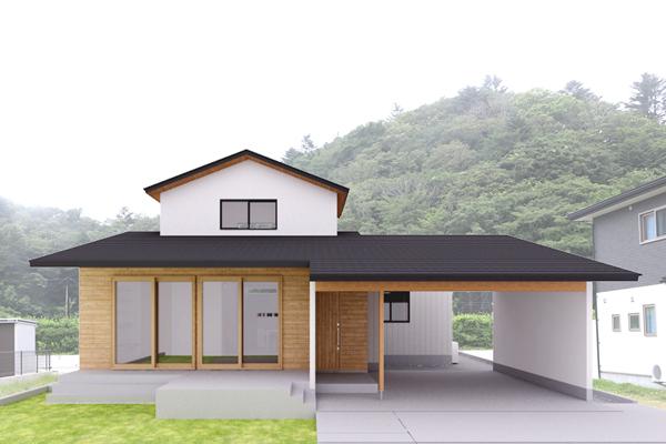 *終了*2020/12/19-20「本と暮らす家」戸建住宅完成見学会@東松島市