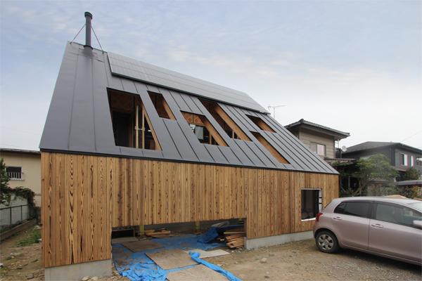 *終了*2020/11/9-15「大屋根の実験住宅」戸建住宅現場見学会@仙台市青葉区